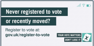 Your Vote Matters - Register to Vote