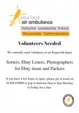 Volunteers for Air Ambulance