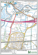 Road closure on Back Lane from the 20th January 2020 for two days