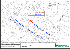 ADVANCE NOTICE OF A TEMPORARY TRAFFIC REGULATION ORDER. ST ANNES LANE
